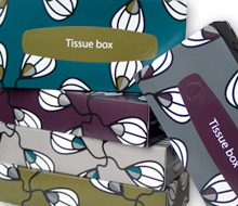 Tissue box, Askul