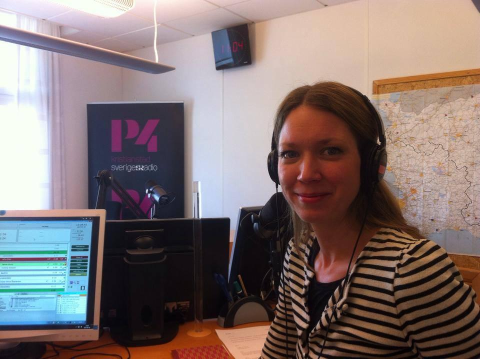 Linda Svensson Edevint radio