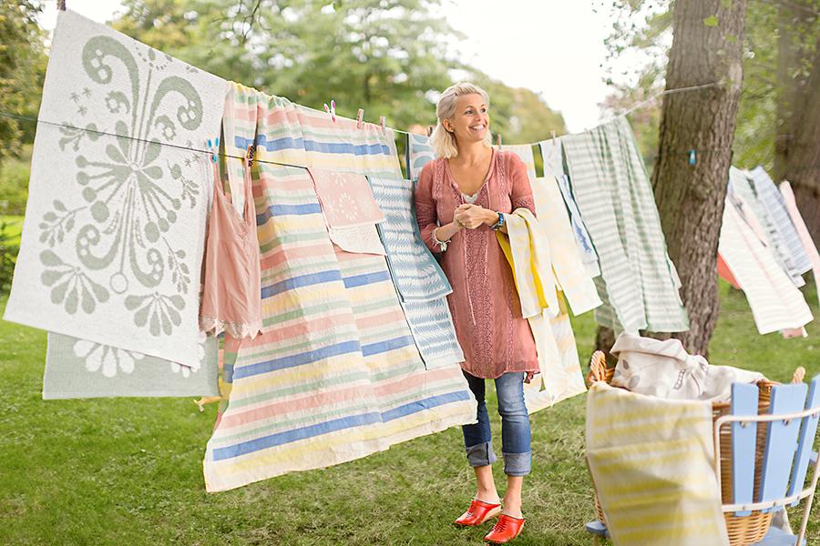 Premiär för Tina Nordströms textila kollektion