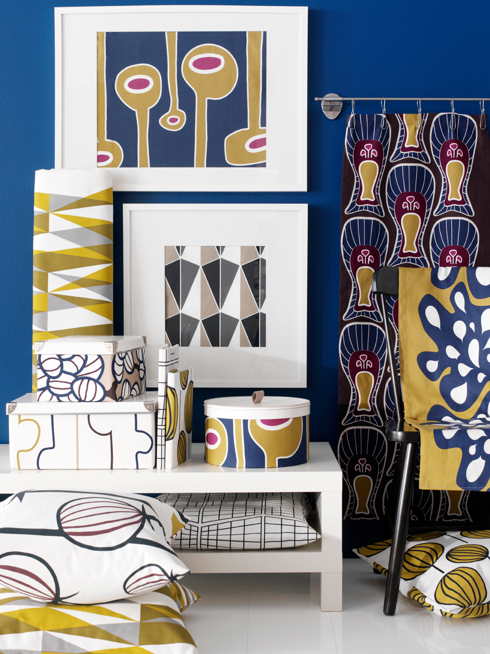 Annabella and Pernilla patterns for IKEA