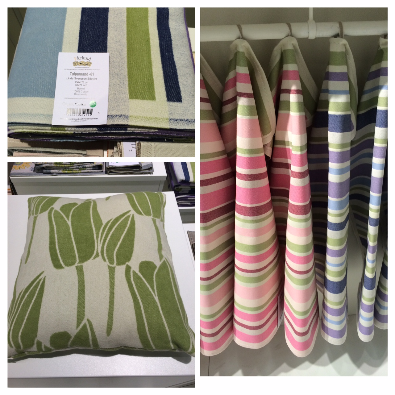 Spring and summer patterns for Ekelund Weavers